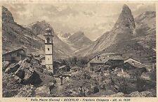 Alpe Solcio (VB) Albergo M. Cistella e bosco di larici f.p.