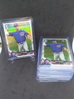 Nico Hoerner Bowman First Chrome Refractor BDC-165 QUANTITY