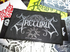 Arcturus Woven Patch Misantrophy Records 1997 Black Metal Ulver Enslaved