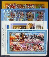 Libye 2000/2002 - 18 m/feuilles sur 3 pages U/M NB4434
