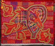 Tablier Molas indien Tulè, Panama, ethnologie, art d'Amérique