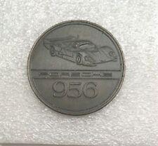 PORSCHE 928 S4 OFFICIAL CHRISTOPHORUS CALENDAR COIN MEDAL TOKEN 1987.