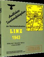 Amtlicher Taschenfahrplan der Reichsbahndirektion Linz 1943 (Reprint)