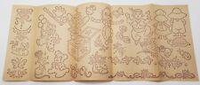 Vintage Embroidery Transfer Pattern Baby Nursery Rhymes Children's Animals plus