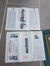 Kork N Seal Pair Of Semi Automatic Capping Machine Leaflets