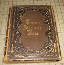 1867 The POETIC WORKS OF LORD BYRON By Thomas Moore HC w/Illustrations
