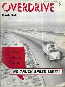 Overdrive Magazine March 1968