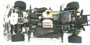 FG SPORTSLINE MODELLSPORT 1/5 SCALE RC CAR 4WD SAMBA PIPE ZENOAH 4 BOLT DISC