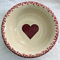 Roseville Pottery Gerald Henn Workshops Spongeware Replica Serving Bowl