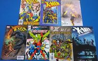 X-MEN lot (7) different issues (1990-2007) Marvel Comics FINE Starjammers Magik