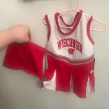 Russell Red Toddler Wisconsin Badgers Cheerleader Outfit Child Nwt 24 Months