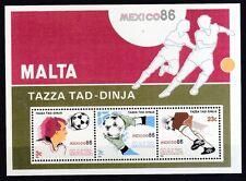 Malta 1986 postfrisch MiNr. Block 9  Fußball-Weltmeisterschaft, Mexiko