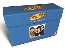 SEINFELD COMPLETE SERIES SEASON 1 2 3 4 5 6 7 8 9  DVD BOXSET 33 DISCS 1-9