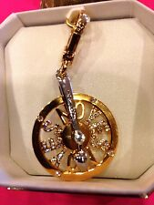 RARE! JUICY COUTURE WHEEL OF LOVE CHARM IN EUC