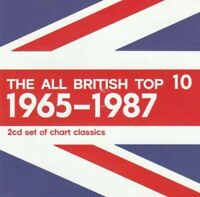 THE ALL BRITISH TOP 10 1965 1987 2 DISC SET BRAND NEW SEALED MUSIC ALBUM CD