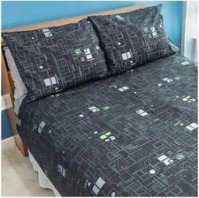Star Trek Borg Cube Bedding Duvet Cover & Pillowcases - King Set BRAND NEW
