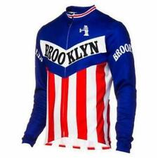 Brand New Team Brooklyn winter fleece Jersey cycling Jersey Gios