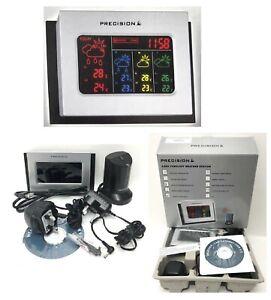 Precision AP038- 4 Day Digital LED 2000 Cities Weather Forecast Unit Alarm Clock