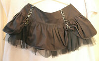 Burleska Women's Black Gothic Skirt Size 18 Used Condition