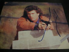 MEL GIBSON SIGNED AUTOGRAPH 8x10 PHOTO LETHAL WEAPON PROMO IN PERSON COA AUTO F