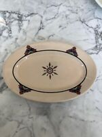 Irotanware Iroquoise Restaurant MP Alkon & Co Art Deco Small Platter USA Vintage