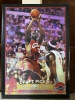 2003/04 Topps Chrome LeBron James Black Refractor Brand New Rookie Card REPRINT