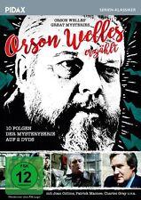 Orson Welles erzählt * DVD 10 Folgen Mysteryserie Starbesetzung Serie Pidax Neu