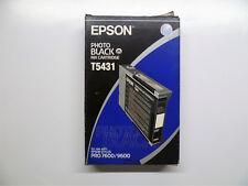 Epson t5431 Photo Black Photo Noir Stylus Pro 7600 9600 -- neuf dans sa boîte MHD