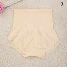 Women's High Waist Body Shaper Brief Underwear Tummy Control Panties Shapewear Beige