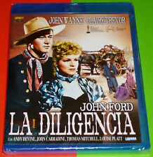 LA DILIGENCIA / STAGECOACH John Ford - English Español - Bluray AREA B - Precint