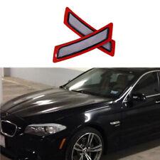 For BMW 528i 535i 550i 11-16 Car Bumper Reflectors Lights Side Maker 63147203266
