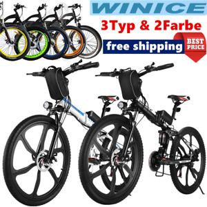 "Elektrofahrrad Mountainbike E-Bike 26""/20"" Klapprad Citybike 250W Motor Pedelec"