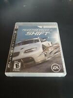 Need for Speed: Shift (Sony PlayStation 3, 2009) COMPLETE RACING EVERYONE PS3