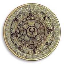 The Mayan Aztec Long Count Calendar, Gold Plated Coin,  Token, Souvenir