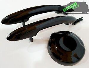 Genuine Brand New MINI F57 Black Door Handles and Fuel Cap Kit Cooper S JCW
