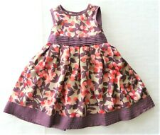 Monsoon Baby Dress Maroon Red 6-12 Months