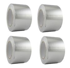 4 Rolls Aluminum Foil Tape 3 X 150 With Liner Malleable Foil Free Shipping