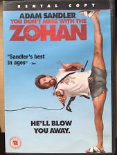 Adam Sandler YOU DON'T MESS WITH THE ZOHAN ~ Hairdresser Comedy | UK Rental DVD
