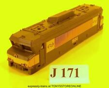 j171 jouef hdi ho spares elec bobo bodyshell ns rn1604 decorated glazed rare