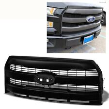 For 15-17 Ford F150 King Ranch Matte Black Front Grill Insert New Replacement