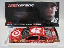 KYLE LARSON 2014 #42 TARGET CAMO AUTOGRAPH 1/24