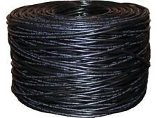 BYTECC C6E-1000K 1000 ft. Cat 6 Black Bulk Cable
