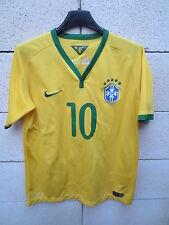Maillot BRESIL Nike NEYMAR n°10 BRASIL shirt enfant XL 13 15 ans football