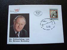 AUTRICHE - enveloppe 1er jour 21/1/1991 (B7) austria