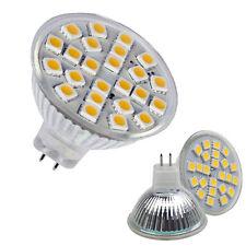 MR16 4.5-5W 24 5050 SMD LED 180 ° bianco caldo lampadina 420LM 220V