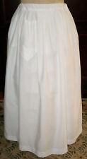 Civil War Underhoop Modesty Petticoat~Underskirt~Draw string Waistband Regular Sz
