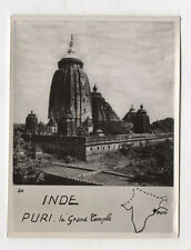 PHOTO ANCIENNE - INDE PURI Le Grand Temple - Robillard Monument Architecture