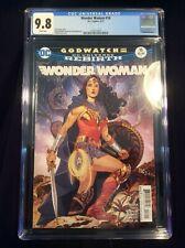 WONDER WOMAN 16 Godwatch Part One CGC 9.8 Greg Rucka story Bilquis Everly cover!