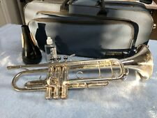 Pre-Owned King Silver Marching Trumpet 1117 (SP)