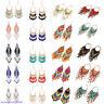 Fashion Women Beads Tassel Fringe Drop Dangle Earring Ethnic Bohemian Earrings
